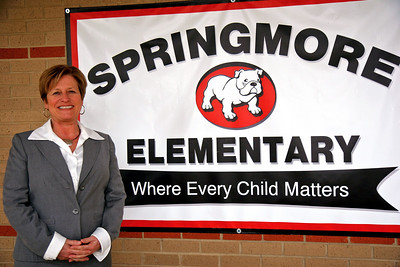 Gloria Sherman, Principal at Springmore Elementary School 2010