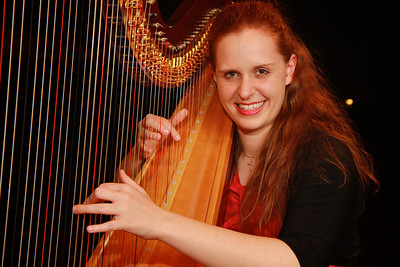 Hannah Blalock; GWU Student and Harpist. Summer 2013.