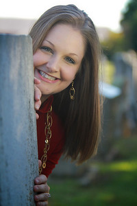 Heather Adams, C/O 2010 Alumn; Photo Taken September 28, 2010.