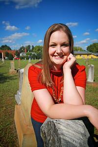 Heather Adams, C/O 2010 Alumn; Photo Taken September 28, 2010.
