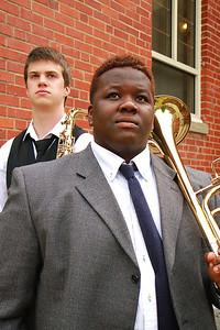 Chad Roseboro and Jordan Cox Recital photo; Spring 2012.