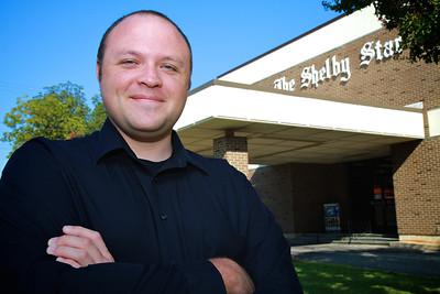 GWU Graduate and Shelby Star Editor Matthew Tessnear; Fall 2012.