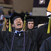 "Samuel Oh expresses his delight at his success at the UAA commencement ceremony Sunday, May 6, 2012.  Photo courtesy UAA/Michael Dinneen  <div class=""ss-paypal-button"">120505 Commencement-2-3.jpg</div><div class=""ss-paypal-button-end""></div>"