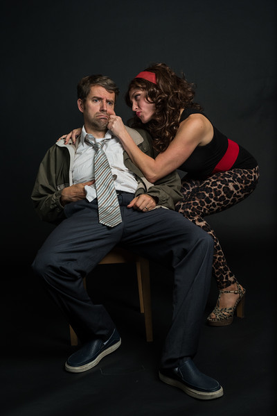"Ivan and Becca as ""Al and Peggy Bundy"""
