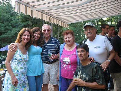 me, Kellie, Dad, Aunt Kay, Steve, Aunt Kay's cousin