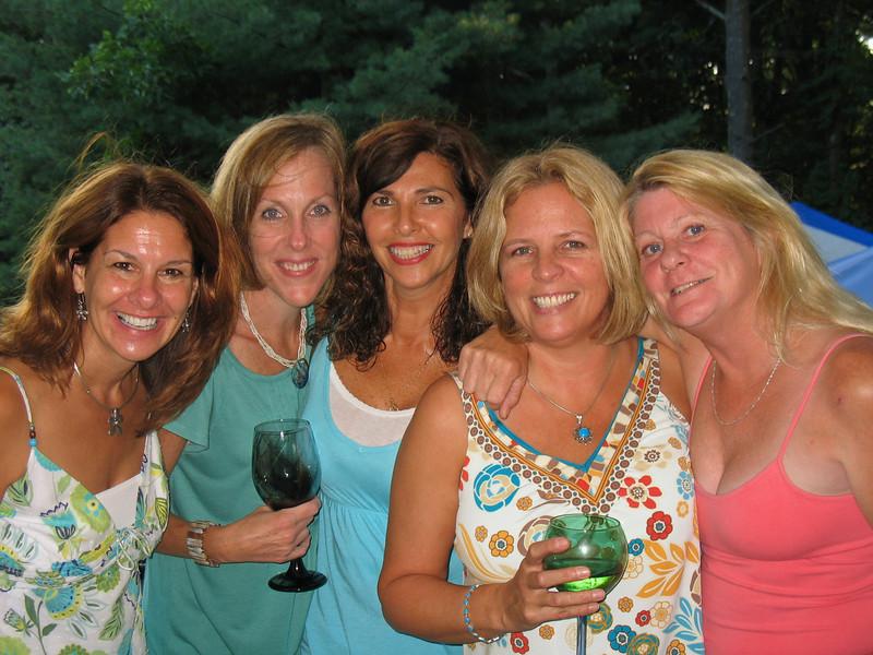 The girls- me, Kristin, Kellie, Joanne, and Chris