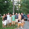 Ross's graduation party