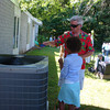 Art and Kiara checking out the HVAC -