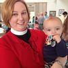 Whitney's nephew Cooper visits St. David's