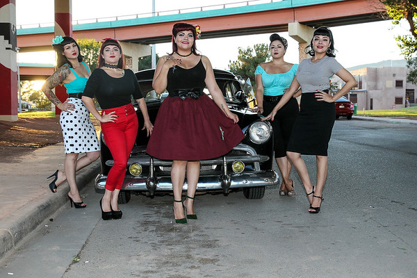 Sun City Pinup Dolls at Lincoln Park