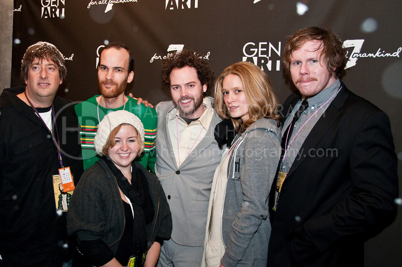 PARK CITY, UT - JANUARY 22: The cast and crew of Douchebag attend GenArt 7 Fresh Faces in Film at the Sky Lodge on January 22, 2010 in Park City, Utah.