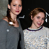 PARK CITY, UT - JANUARY 22: Actresses Jennifer Lawrence (L) and Zoe Kazan (R) attend GenArt 7 Fresh Faces in Film at the Sky Lodge on January 22, 2010 in Park City, Utah.