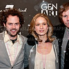 PARK CITY, UT - JANUARY 22: (L-R) Director Drake Doremus, Actress Amy Furgeson and actor Ben York Jones attend GenArt 7 Fresh Faces in Film at the Sky Lodge on January 22, 2010 in Park City, Utah