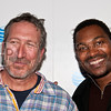 PARK CITY, UT - JANUARY 24: Actors Mykelti Williamson and David Fox attend the 'HIGH school' premiere party at The Film Lounge on January 24, 2010 in Park City, Utah.