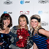 PARK CITY, UT - JANUARY 24: Actress Taryn Manning poses with unidentified women dressed as cheerleaders for the 'HIGH school' premiere party at The Film Lounge on January 24, 2010 in Park City, Utah.