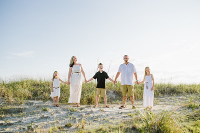 Sunset Beach Family Portraits at Lands End Condos Treasure Island Florida