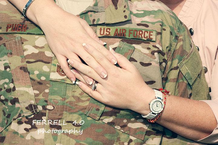 Pugh Family pre-deployment photos