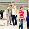 Pugh Family pre-deployment photos
