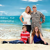 Pre-deployment shoot with the Pugh Family