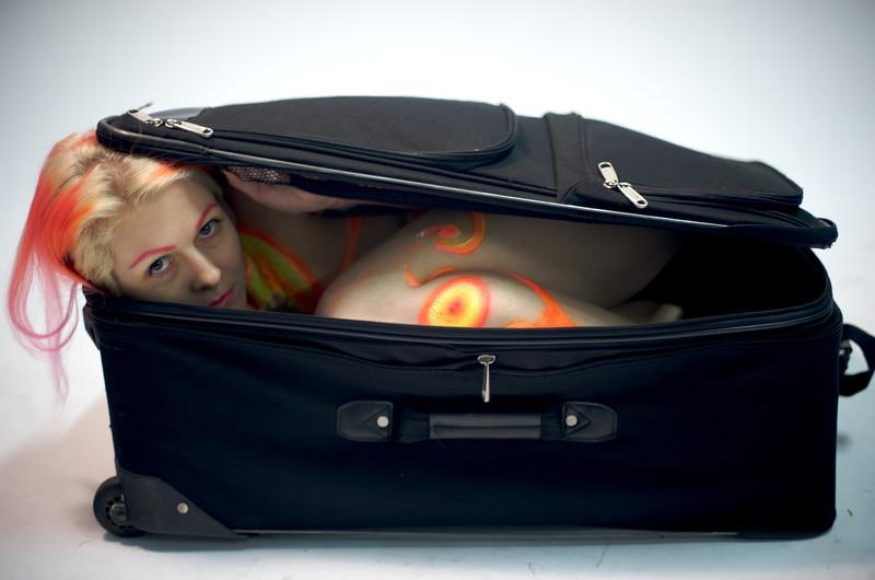 Suzi in a Suitcase