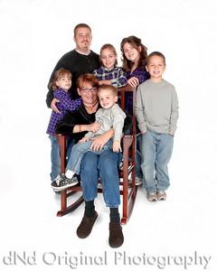 12 Sweeney-Weston - Mary & Dan with Grandchildren (8x10)
