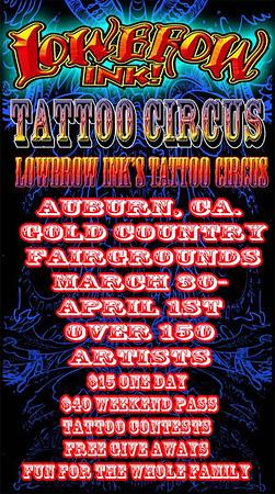 LOWEBROW INK TATOO CIRCUS