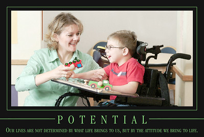 Our therapists allow a child to be just that and help them learn new skills for better independence in the future.