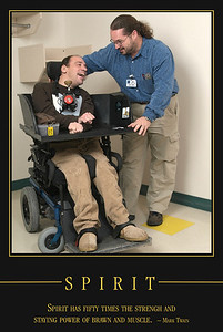 Assistive technology embodies the spirit of work done at our Rehab Center on 41st Street in Sioux Falls, South Dakota.