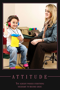 We all love to hear a child laugh.  We believe a child should hear that laughter as well.  Our pediatric audiologists can screen and assist with those needs.