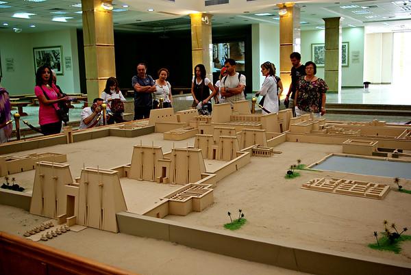 EGYPTE.  Le complexe religieux de Karnak.