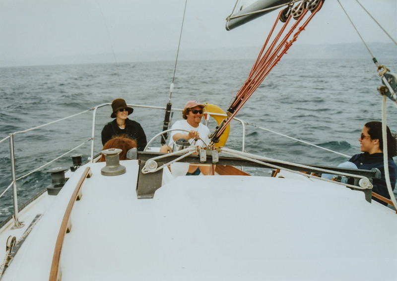 Denise Dick, Paul and Kristen Jarvie 1995