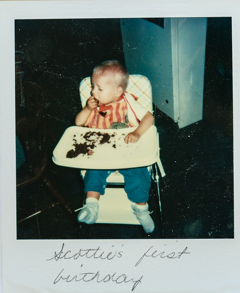 Scottie's first birthday