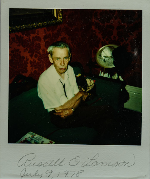 Russell O Lamson July 9, 1978