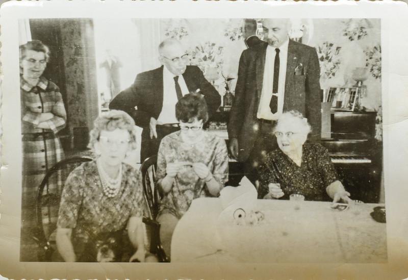 Janel Waren, Pauline Lamson, Kathy Bonnstetter, Russell O LAmson, Mrs Waren