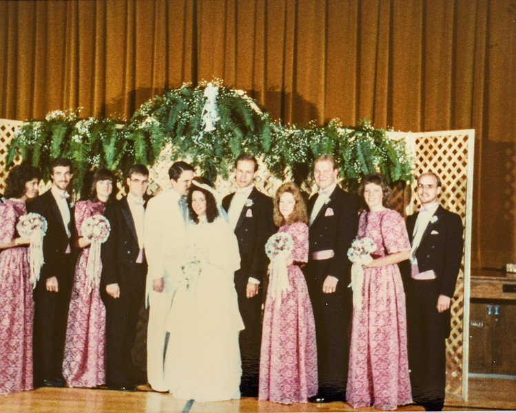 Jay and Jodi's wedding 1987