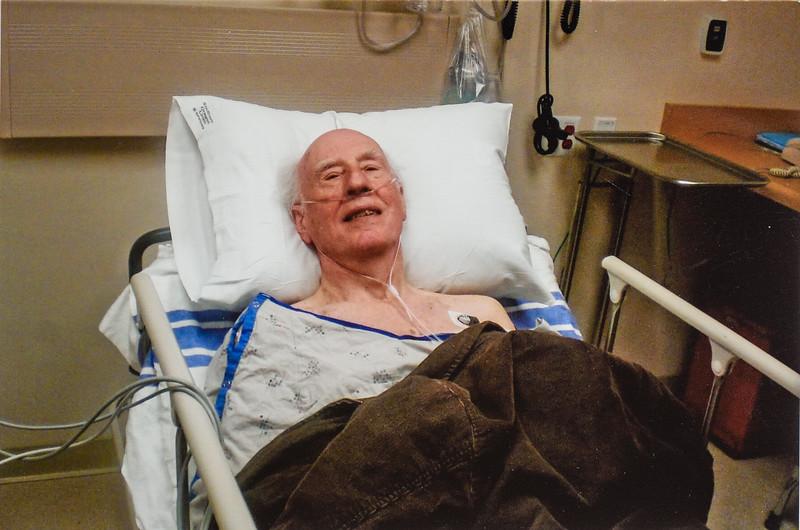 R. Scott Jarvie in ER for heart 2011v