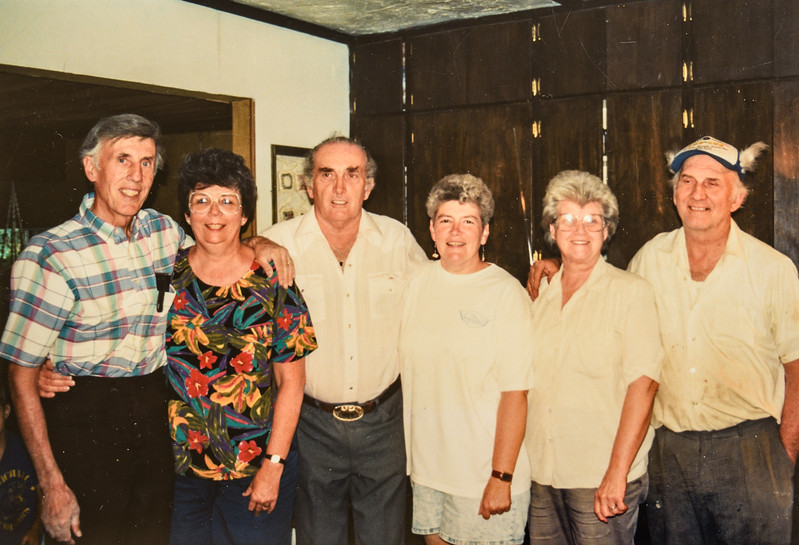 R. Scott and Kathy, Thearn and Danny, Wanda and Jack Jarvie