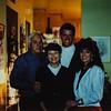 Ken, Mom (Gerri), Russell, Heidi x mas 1989