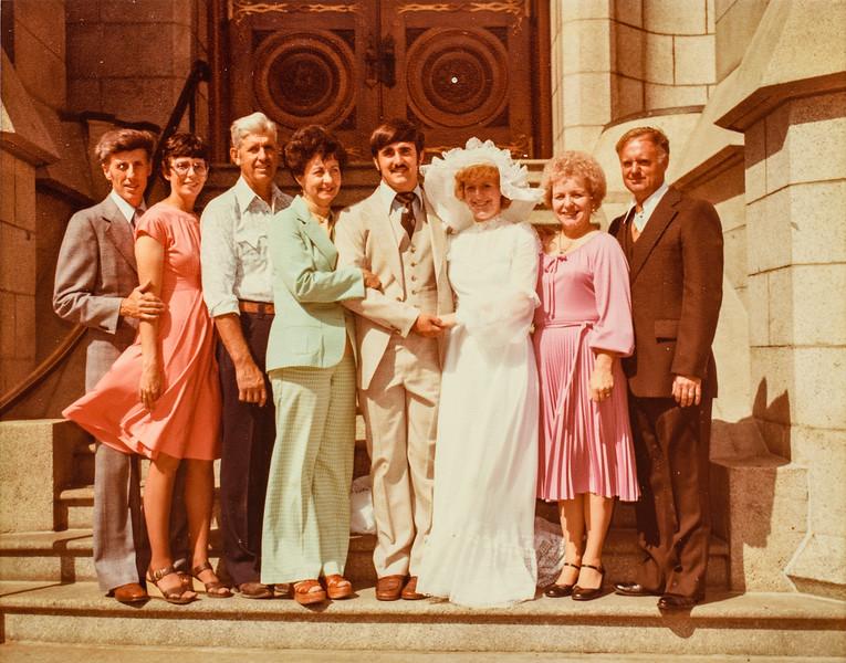 Verl and Teresa's wedding