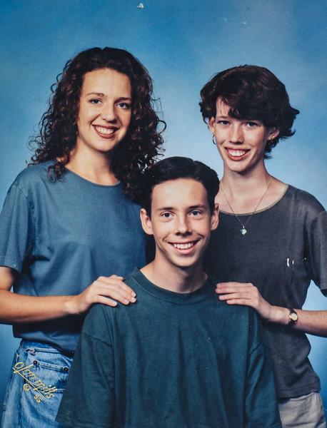 Kris, Sara, Scotty Jarvie 1995