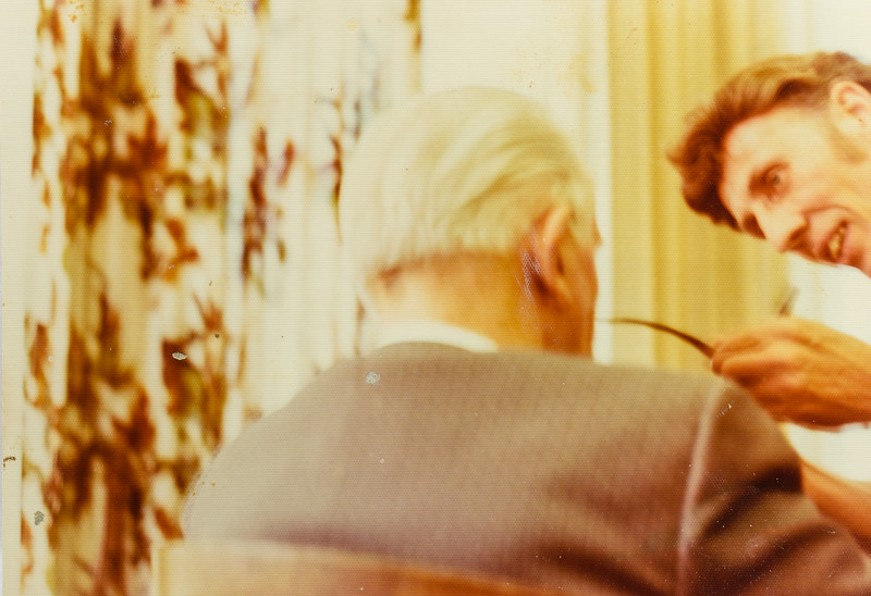 Ezra Taft Benson and R. Scott Jarvie 1977