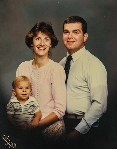 James, Vonda, Ron 1985
