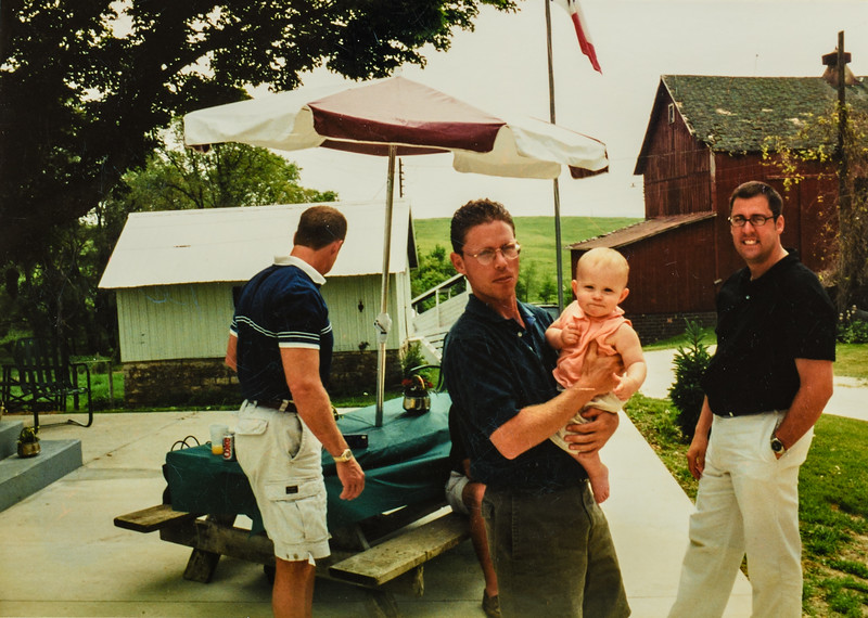 Matt, Emma, Mike 2001