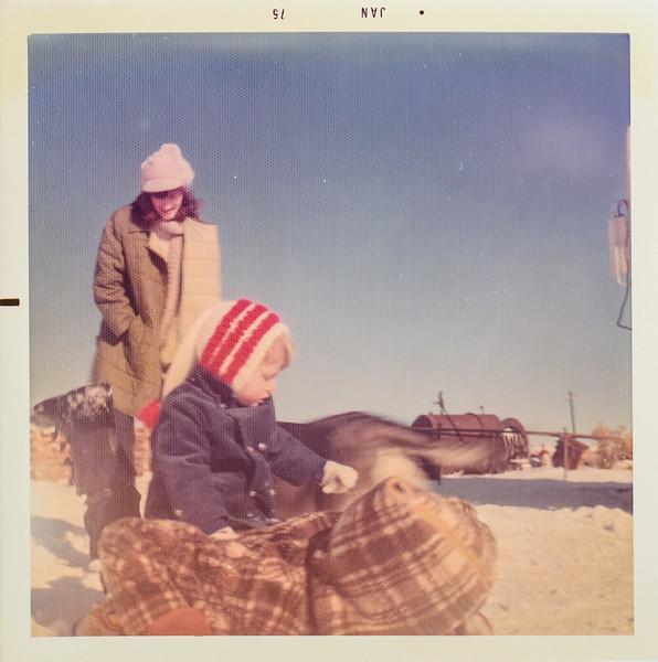 Vonda and Sara 1975