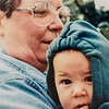 Grandma Kathy and Emerson Jarvie 1998