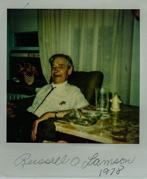 Russell O Lamson 1978