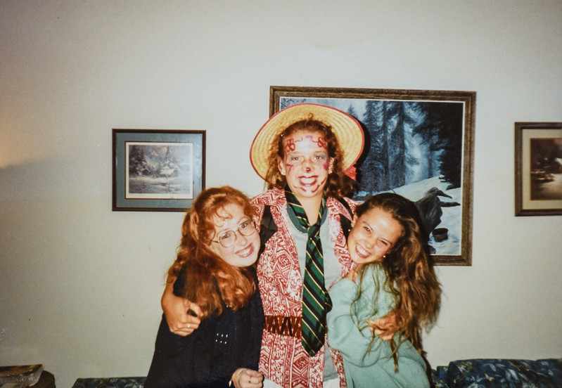 Heather Carlseen, Kristen Jarvie and Laura Crane