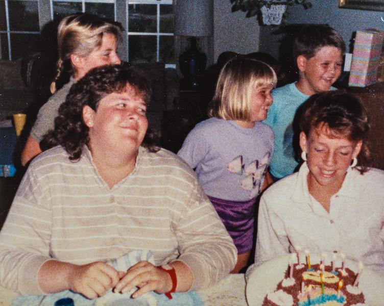 Beth Quinney and Kristen Jarvie 1986