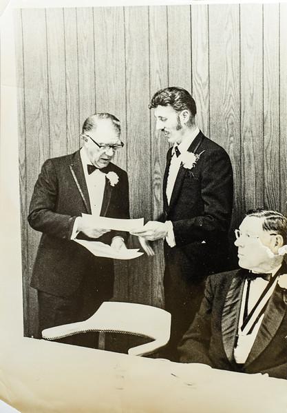 R. Scott Jarvie graduating from Palmer 1971
