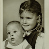 Heidi- 4 years and Russ R. 6 months 1969